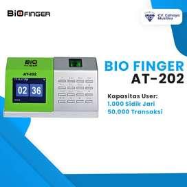 Jual Mesin Absensi Fingerprint Di Malang Murah Bio Finger AT-202