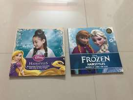 Disney Frozen and Princess hairstyle books