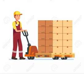 Loading work 10 to 6 Sunday holiday