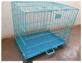 cage available for 24 Inc New ek dum tow sid opne gate tray blue c