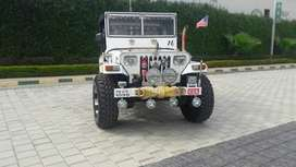 White and brown jeep break all power