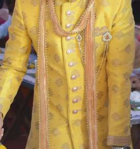 Brand new Manyavar Sherwani with pyzama