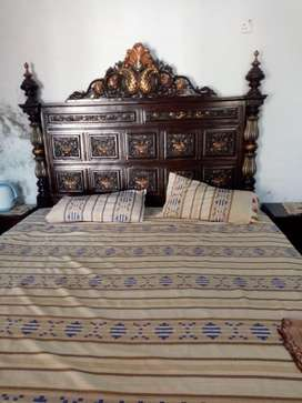 King Size Chinioti Bed With Dressing Table