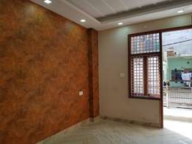 2bhk builder floor near metro station.