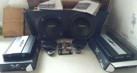 Dijual paket komplit audio venom dan single Din Pioneer
