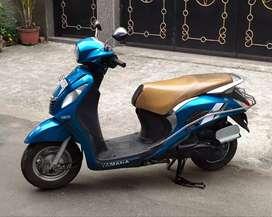 Sale Yamaha Yamaha Fasino scooty only 38k.