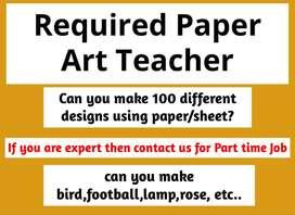 origami paper art teacher