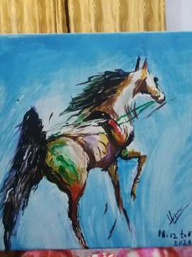 Hand Made Painting by Acrylic on Canvas
