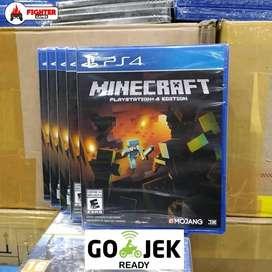 (NEW) BD Kaset PS4 Minecraft - Ready GOJEK