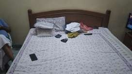 Pure Saagwan Solidwood Double Bed
