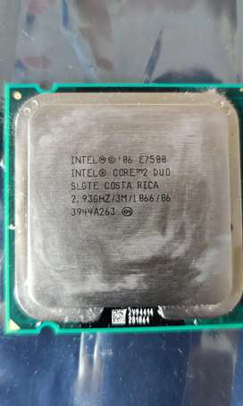 Core 2 Duo E7500 2.93Ghz Processor