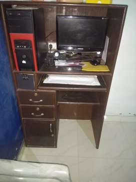 Computer and Computer Table