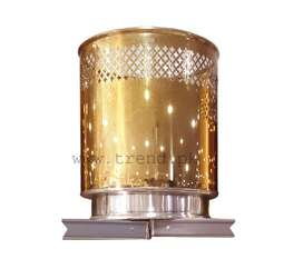 Planter Golden, SS Gold Plated, Stainless Steel, Non-Magnet, Gamla