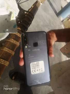 infinix s4 6/64 condition9/10  2 days used