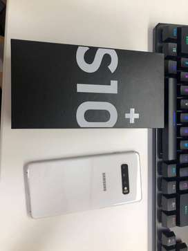 brand new Samsung galaxy s10 plus with excellent condition