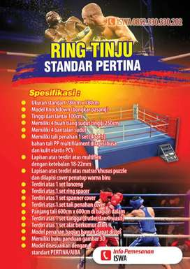 Ring Tinju Standar PERTINA/AIBA Warna Lengkap