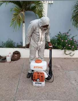 Pest control services and fumigation services