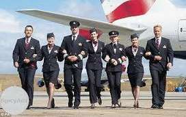 Hiring for cabin crew and ground staff