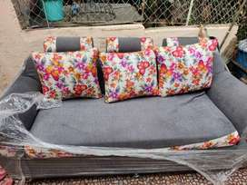 Customized Cushion Sofa Set