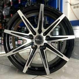 Velg ertiga , terios , rush ring 16 tipe KCCX warna black polish