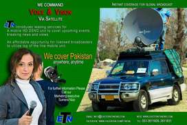 Production services, Satellite Services ,UPLINK, DSNG VAN, LIVE U,TV