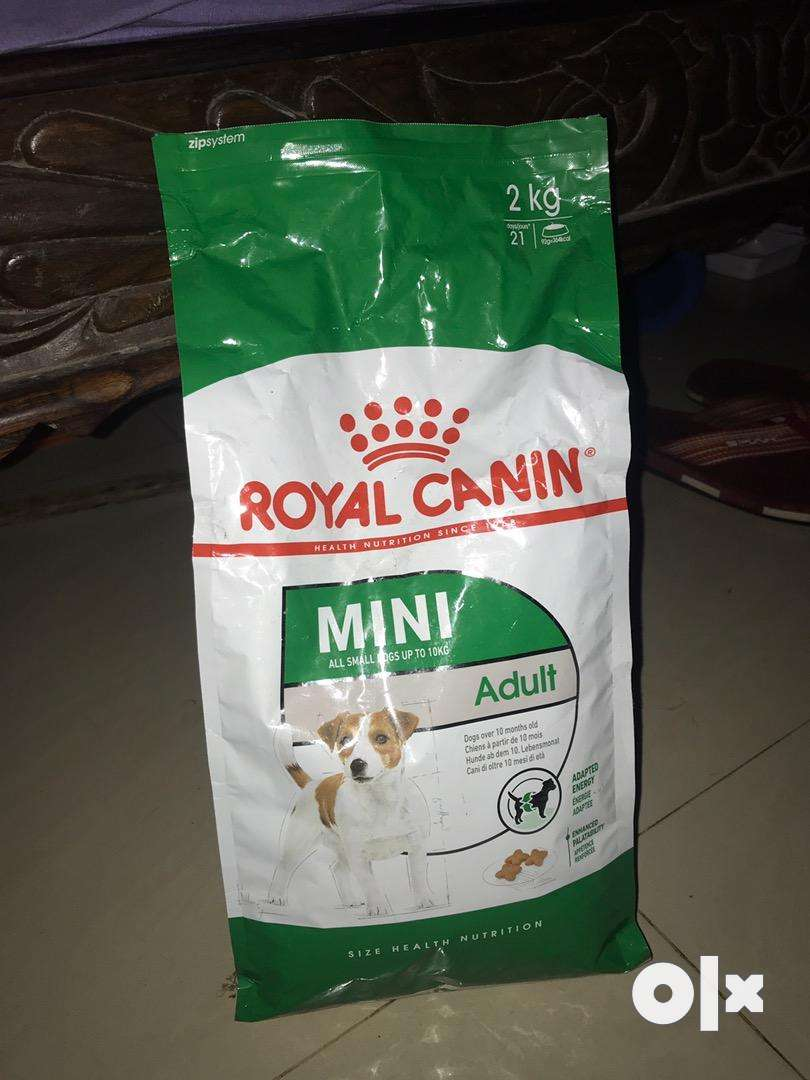 Royal canin for mini adult 0