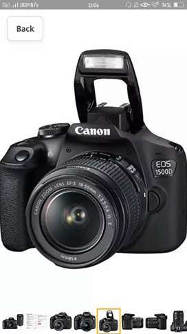 Camera for Rent Canon 1500D.. With two lenses..