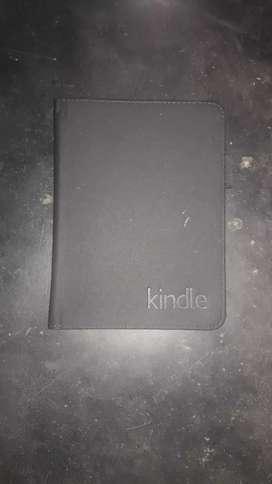 Amazon Kindle with kindle flip cover