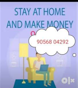 Work@home /part time/(freshers) students housewife @