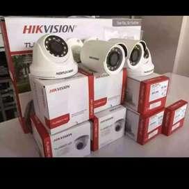 Alat keamanan kamera CCTV paket lengkap
