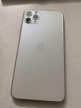 Iphone 11pro max 256gb white colour