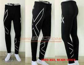 2XU men joggers compression fitness tight running clothes breath