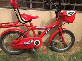 One year old bicycle for kids having age of 5 to 6 yrs