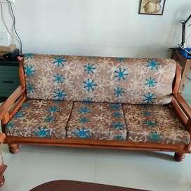 Teak wood Sofa 3+2 Table