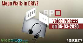 Mega Walk-In Drive for Graduate/Undergraduates for BPO Voice Process