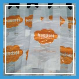 Sablon Tas Plastik Plong HD & Ziplock Murah Medan Kota