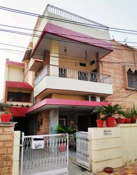 Semi furnished 2 BHK with Balcony and Big terrace at Prime Poata area