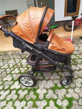 Stroller babyelle XTREME COKLAT MEWAH