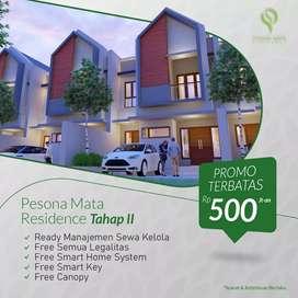 Rumah Exclusive 2 lantai free smart home system