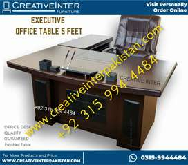 Office Table 5ftbestPolished qualitymaking sofa bed Chair laptop Study