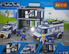 Mainan Edukatif COGO Police 3915