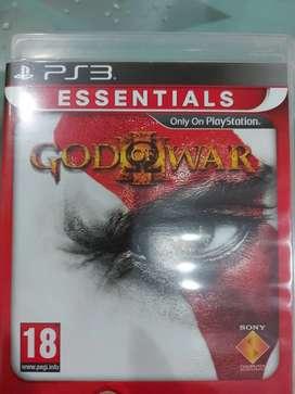 Play Station 3 Game CD-God Of War 3