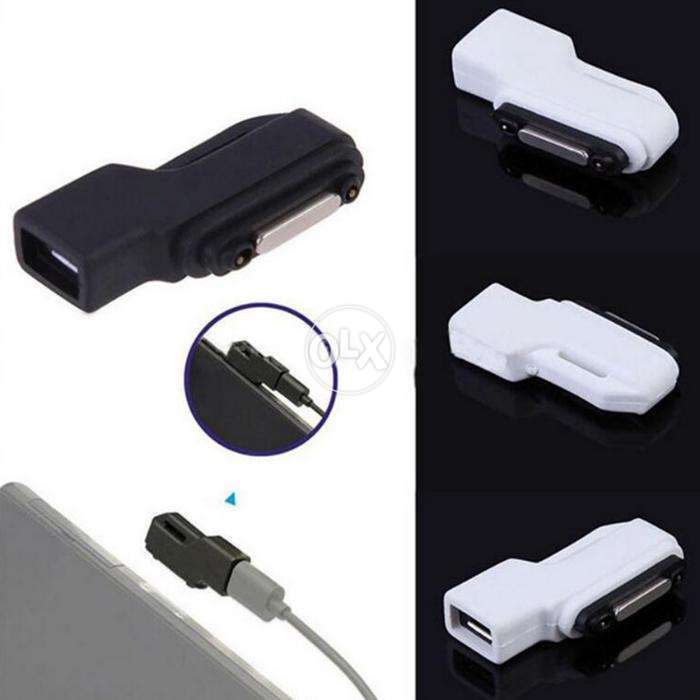 Sony Xperia Magnetic Fast Charging Usb Cable And Converter 0
