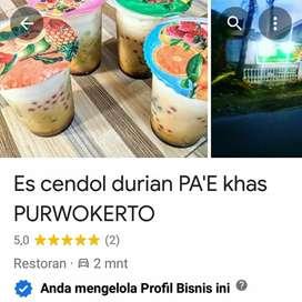 Es cendol durian PA'E khas PURWOKERTO