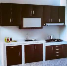 kitchenset mini bar penyekat ruang murah