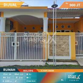 Dijual Rumah Jalan Kapi Sraba Sawojajar Bagus 3 Kamar SHM Nyaman Luas