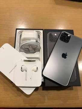 Di jual iphone 11 pro 64gb grey