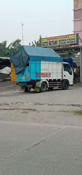 Sewa truk Cdd jasa angkutan barang pindahan lintas Pantura Jawa Bali