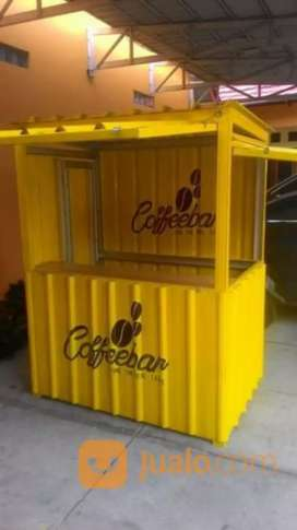 Booth Container untuk coffe shop,kedai,cafe dll