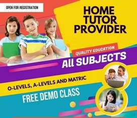 Lady Home Tutors Required For Grade 1 In Islamabad